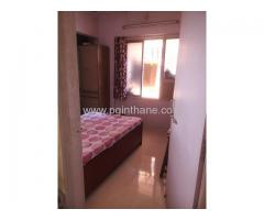 1 BHK flat for pg males in balkum near from thane station