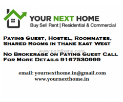 No Brokerage PG in Thane for Female
