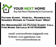 3 BHK PG Apartment for Men in Patlipada 9082510518
