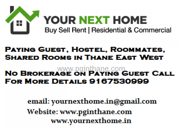 Paying Guest for rent in Manpada Thane