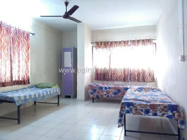3 sharing bed on rent in gokul nagar thane