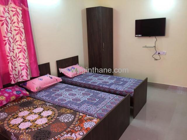 3 bedroom pg available for girls in thane east
