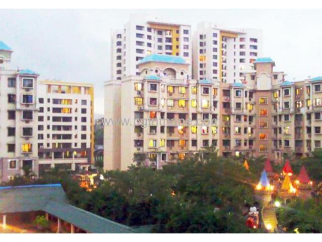 3 bhk on rent near station thane Naupada