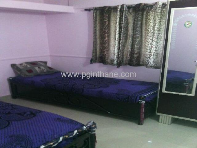 well furnished pg near kasarvadavali