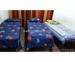 Rooms With Common Refrigerator, Water Filter, Power Backup In Thane