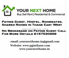 PG in Thane West, Mumbai Thane (9167530999)