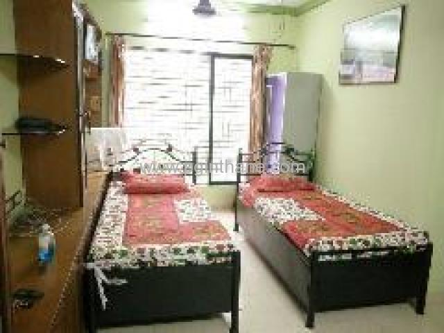Excellent Paying Guest Accommodation Thane West Near Vijay Sales