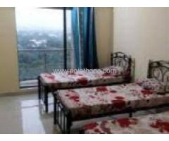 Paying Guest Facility in Thane Majiwada 9004671200